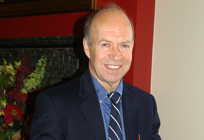 Professor og direktør James Hansen fikk Sofieprisen for 2010.