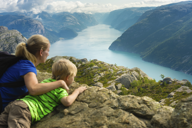 Utsikt over Lysefjorden. Foto: no_limit_pictures/Istockphoto