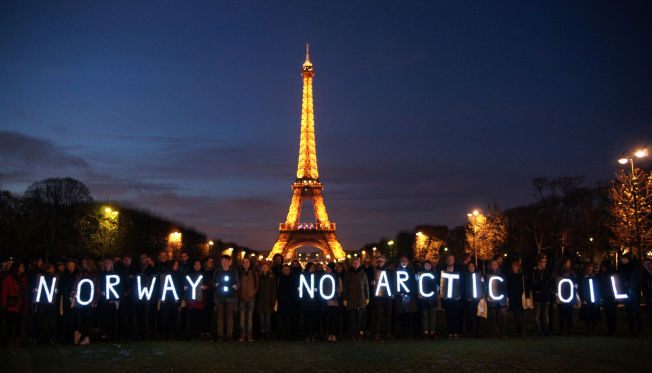 No Arctic oil